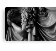Grief -  Photographic stone sculpture memorial Canvas Print