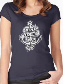 The Rusty Anchor Bar Women's Fitted Scoop T-Shirt
