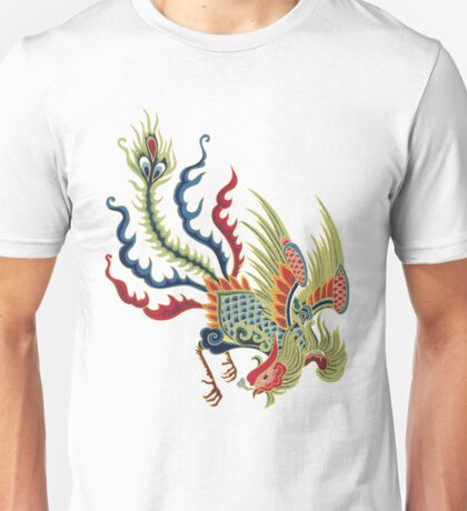 Chinese Rooster Asian Art Unisex T-Shirt