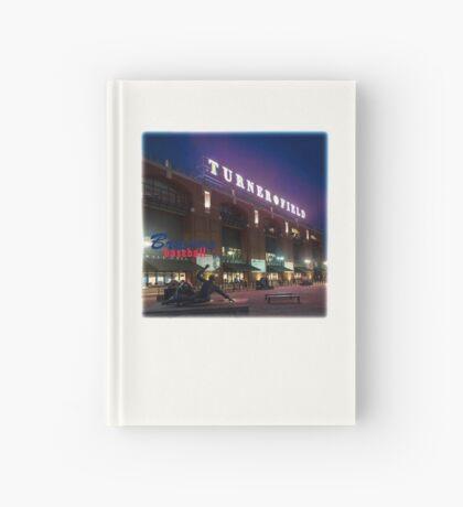 Braves Baseball Hardcover Journal