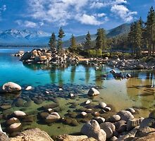 Sand harbor Morning - Lake Tahoe by Kathy Weaver