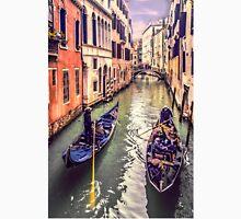 Passing Strangers in Venice Unisex T-Shirt