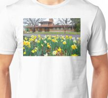 Frank Lloyd Wright Allen House, Wichita Unisex T-Shirt