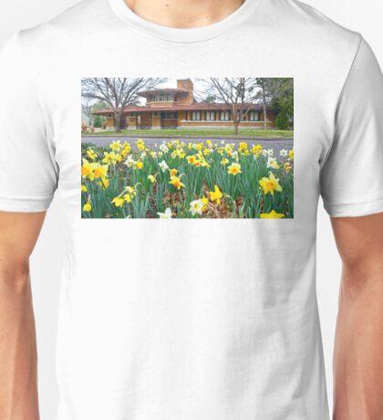 Frank Lloyd Wright Allen House, Wichita Unisex T-Shirt