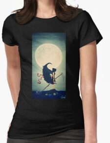 Angel of Death Womens Fitted T-Shirt