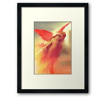 The Expulsion from Paradise by the Red Angel Framed Print