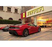 Ferrari Dealership Photographic Print