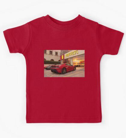 Ferrari Dealership Kids Tee