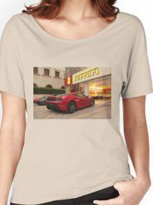 Ferrari Dealership Women's Relaxed Fit T-Shirt