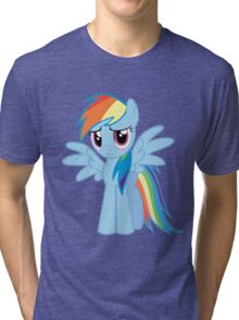 Rainbow Dash Blush Tri-blend T-Shirt