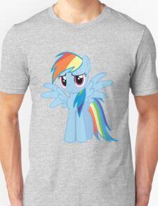Rainbow Dash Blush Unisex T-Shirt