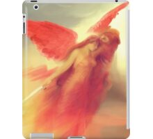 The Expulsion from Paradise by the Red Angel iPad Case/Skin