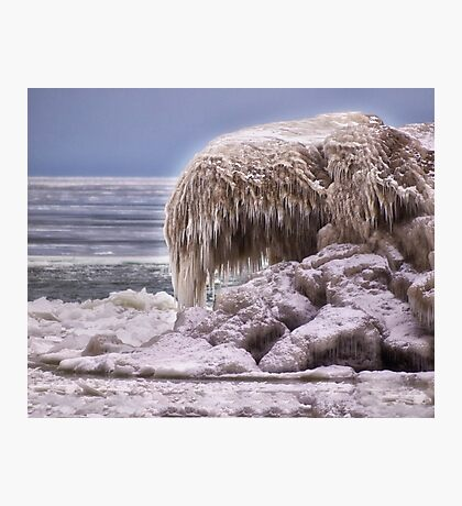 Sculpted By Nature - Erie, PA Photographic Print