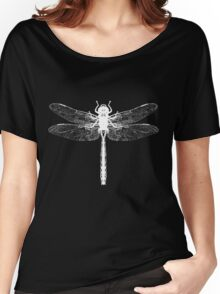 White Dragonfly  Women's Relaxed Fit T-Shirt