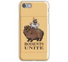 Rodents Unite! iPhone Case/Skin