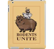 Rodents Unite! iPad Case/Skin