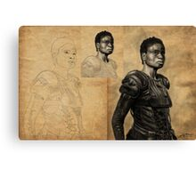 Indra Beginning to End Canvas Print