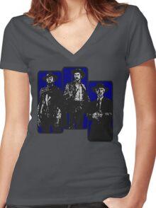 Il buono, il brutto, il cattivo Women's Fitted V-Neck T-Shirt