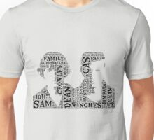 Sam and Dean Winchester Supernatural Hunter Brothers Unisex T-Shirt