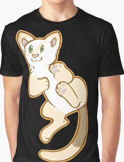 Playful Kitty Graphic T-Shirt
