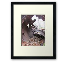 Rust Reality  Framed Print