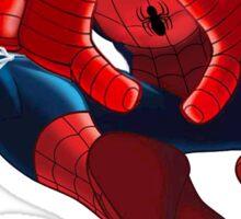 Kappa Alpha Theta Spider-Man Sticker