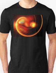 Orange Crescent Moon T-Shirt