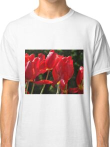 Sunny Tulips Classic T-Shirt