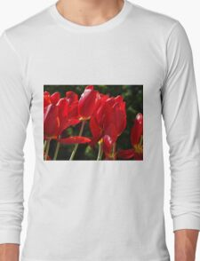 Sunny Tulips Long Sleeve T-Shirt