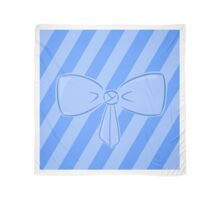 Blue Bow Scarf