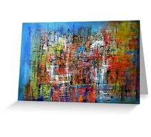 Abstract composition 269 Greeting Card