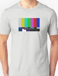 SMPTE color bars Unisex T-Shirt