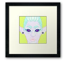 Toothpaste Fairy Framed Print