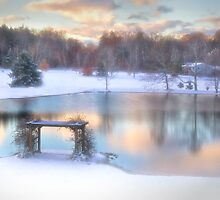Winter Comes to Weaver Pond by Kathy Weaver