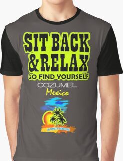 Sit Back And Relax In Cozumel Graphic T-Shirt