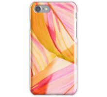 Tinted Leaf Abstract Painting iPhone Case/Skin