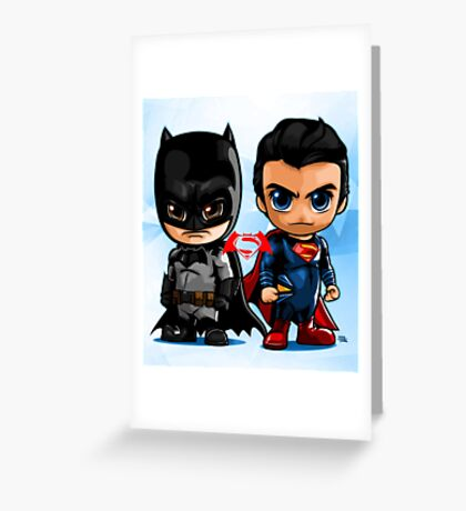 LIL HEROES Greeting Card