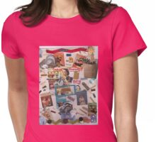 Presenting Desperate Housewives(Magnetic) Poetry!(best viewed close up) Womens Fitted T-Shirt