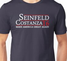 SEINFELD COSTANZA 2016 MAKE AMERICA GREAT AGAIN Unisex T-Shirt