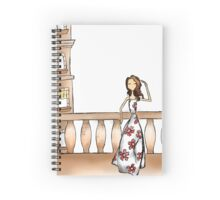 Gazing Girl I Know Spiral Notebook