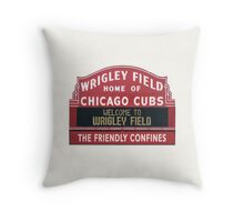 Chicago Home of Baseball Fever Throw Pillow