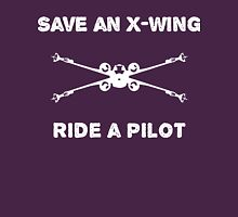 Saving aircraft one pilot at a time Womens Fitted T-Shirt