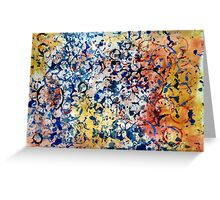 Abstract composition 272 Greeting Card
