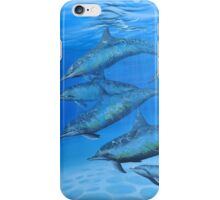 Dolphins of the Sea iPhone Case/Skin