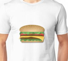 Yummy Cheeseburger Unisex T-Shirt