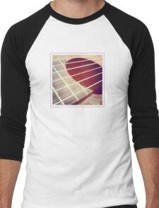 acoustic guitar Men's Baseball ¾ T-Shirt