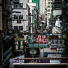 Hong Kong Signage by Shari Mattox-Sherriff