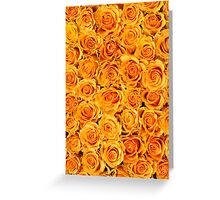 Sunshine Rose Floral Collage Greeting Card