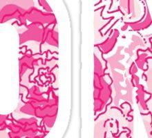 Phi Mu Sticker