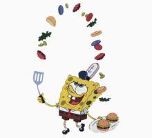Spongebob and Krabby Patties Baby Tee